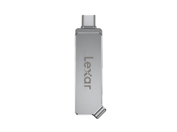 Lexar Flash drive Dual Drive D30c 32 GB, USB 3.1, Silver, USB Type-C / USB Type-A, 130 MB/s