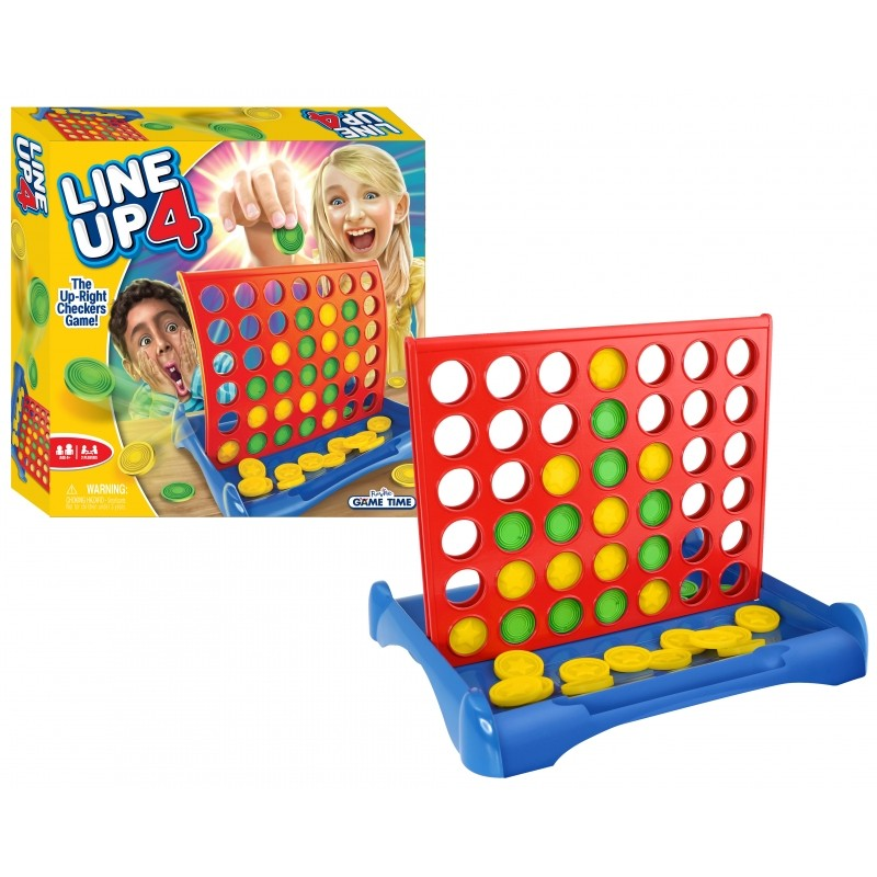 FUNVILLE GAMES Line Up 4 game, 61136