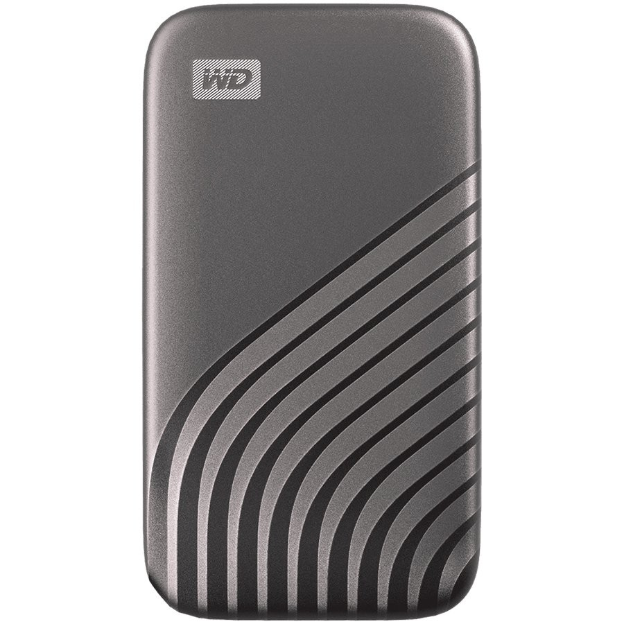 WD 1TB My Passport SSD - Portable SSD, up to 1050MB/s Read and 1000MB/s Write Speeds, USB 3.2 Gen 2 - Space Gray