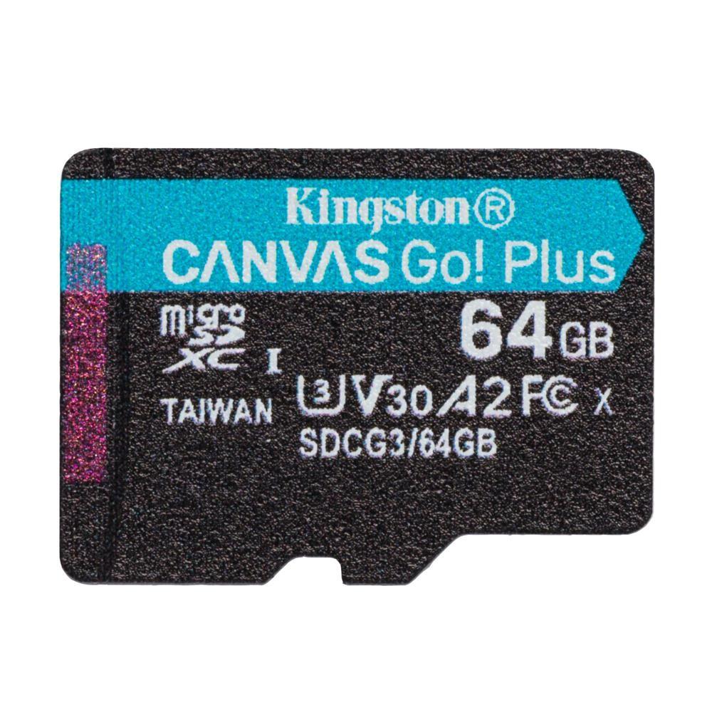 Kingston Technology Canvas Go! Plus mälukaart 64 GB MicroSD Klass 10 UHS-I