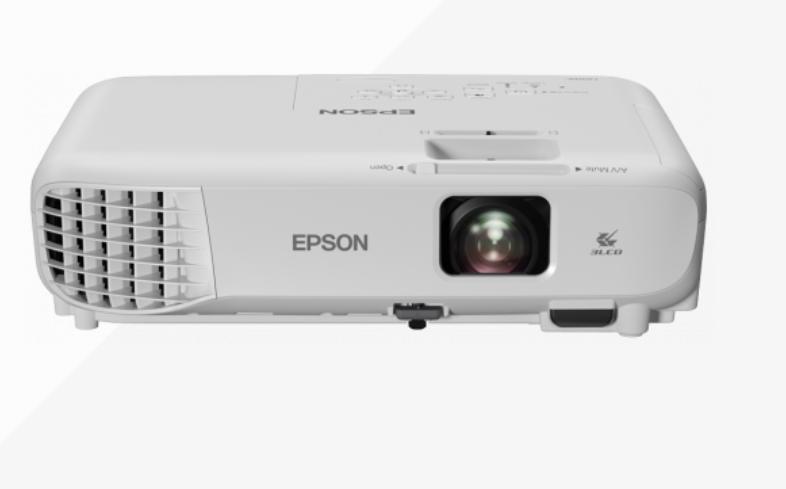 Epson 3LCD projector EB-W06 WXGA (1280x800), 3700 ANSI lumens, White