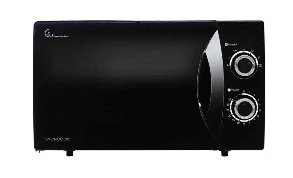 Winia Microwave oven KOR-81F7BW Free standing, 800 W, Black