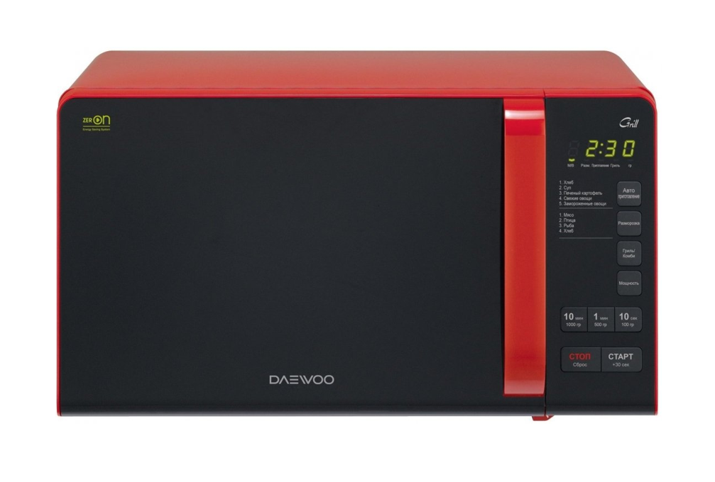 Winia Microwave oven with Grill KQG-663RW Free standing, 700 W, Grill, Red/Black