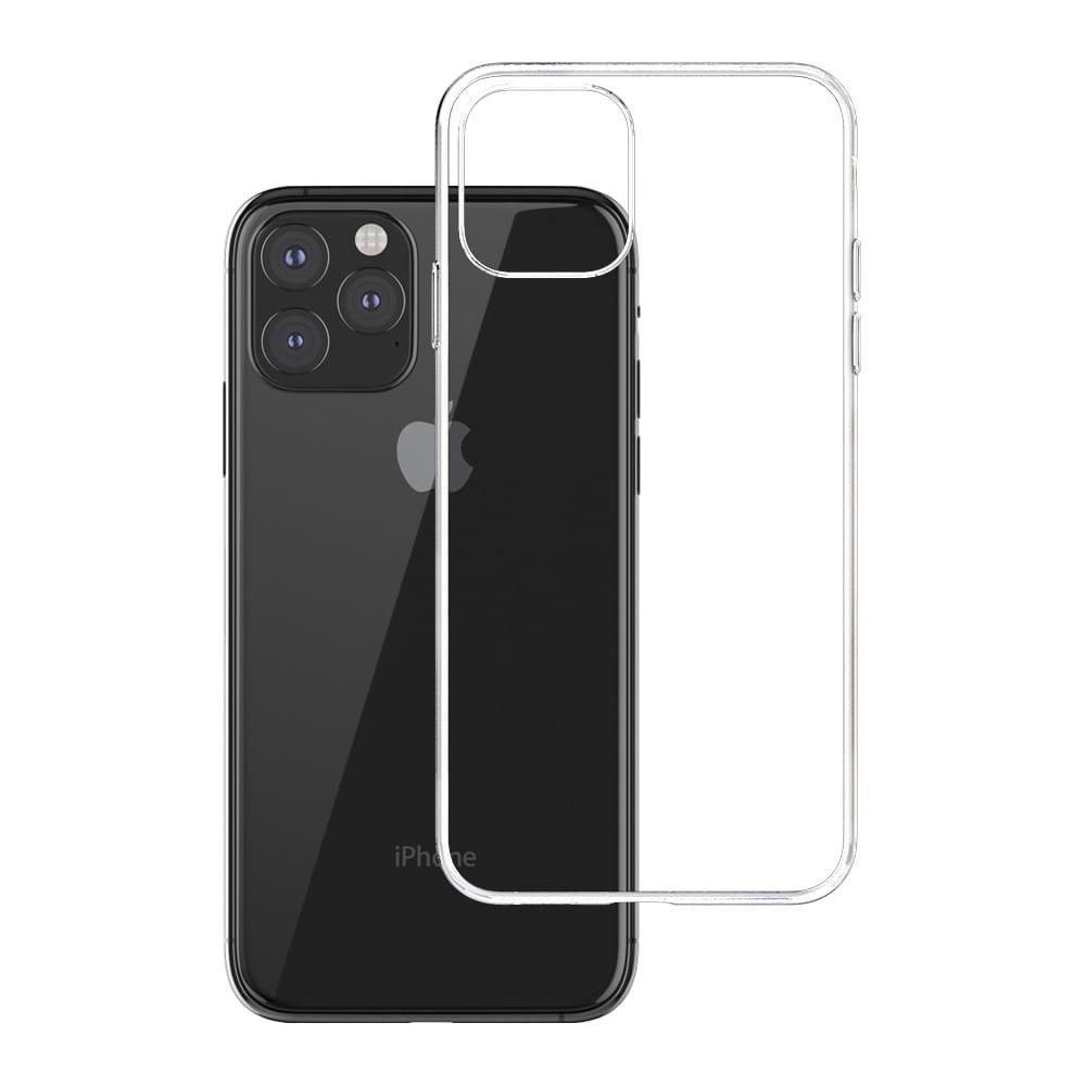 3MK For iPhone 12 Mini, TPU, Transparent, Clear phone case