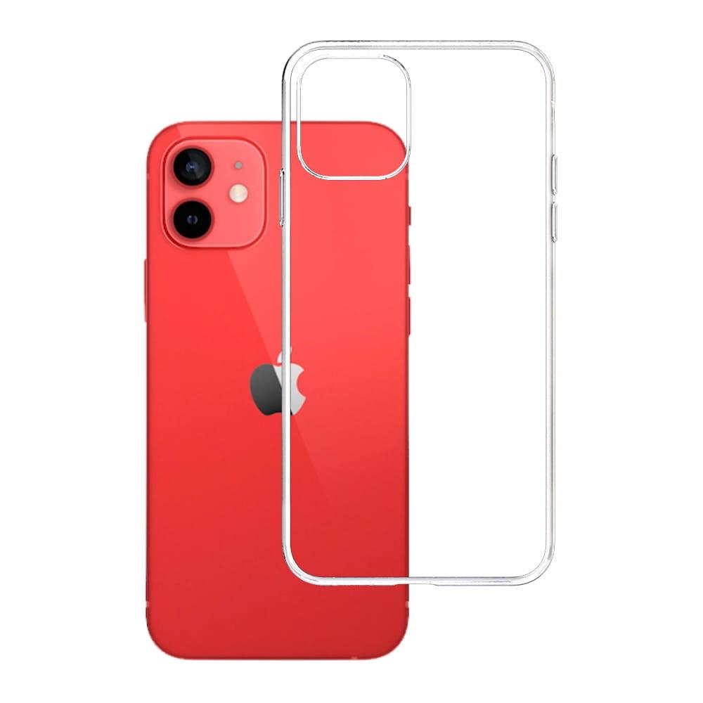 3MK For iPhone 12/12 Pro, TPU, Transparent, Clear phone case