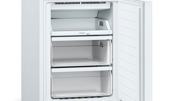 Bosch Serie 2 Refrigerator KGN33NWEB Energy efficiency class E, Free standing, Combi, Height 176 cm, No Frost system, Fridge net capacity 193 L, Freezer net capacity 89 L, 42 dB, White