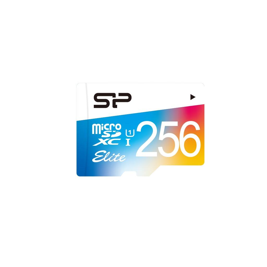 SILICON POWER Micro SDXC 256GB + Adapter