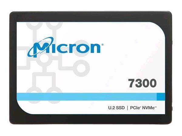 "SSD|MICRON|SSD series 7300 Pro|3.84TB|PCIE|NVMe|NAND flash technology TLC|Write speed 1900 MBytes/sec|Read speed 3000 MBytes/sec|Form Factor 2,5""|MTBF 2000000 hours|MTFDHBE3T8TDF-1AW1ZABYY"