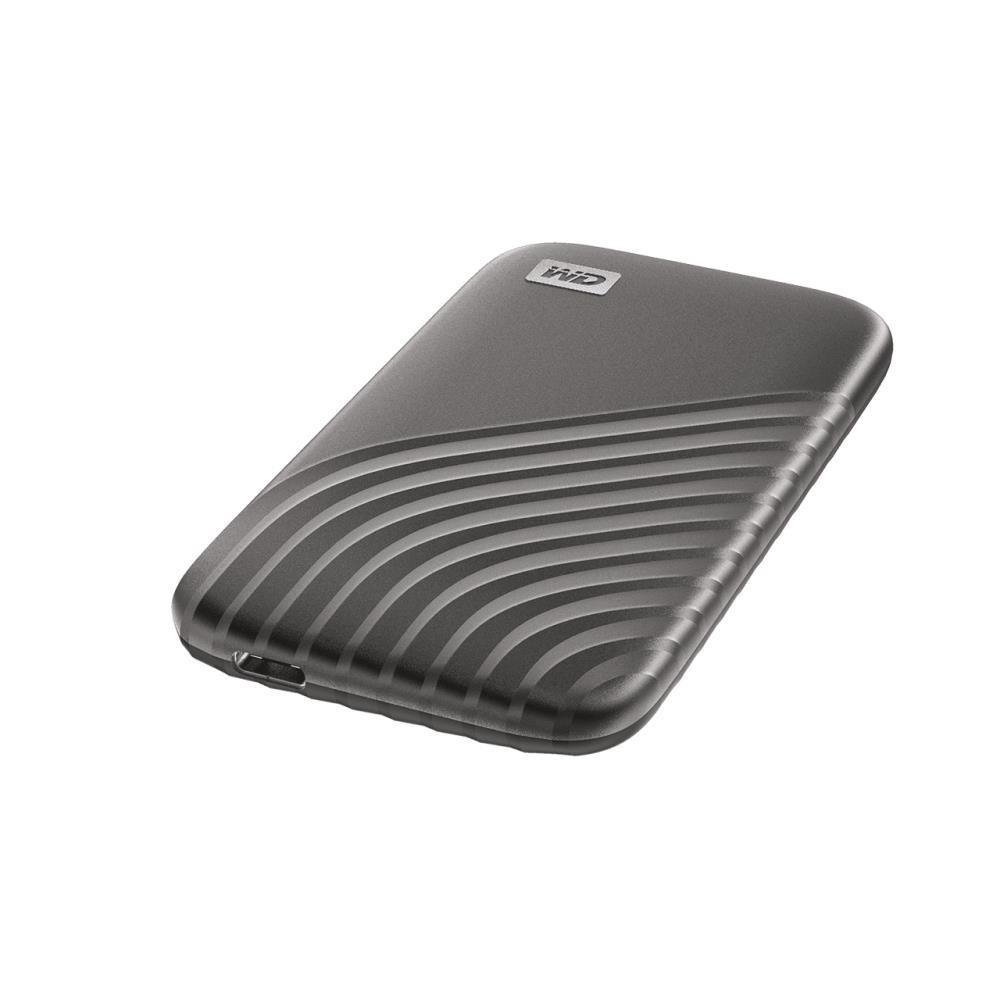 External SSD WESTERN DIGITAL My Passport 1TB USB-C Write speed 1000 MBytes/sec Read speed 1050 MBytes/sec WDBAGF0010BGY-WESN