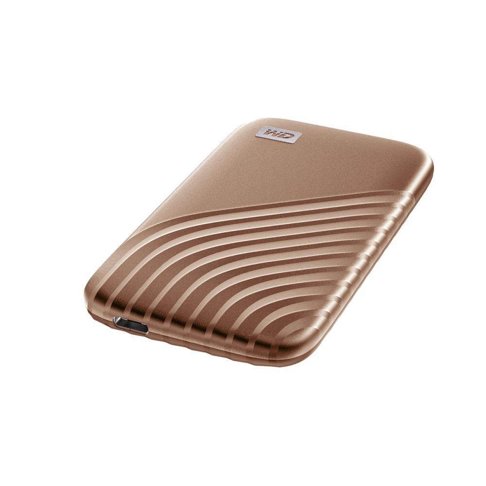 External SSD WESTERN DIGITAL My Passport 1TB USB 3.2 Write speed 1000 MBytes/sec Read speed 1050 MBytes/sec WDBAGF0010BGD-WESN