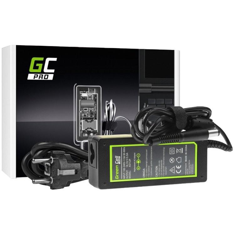 AC adapter Green Cell PRO 18.5V 3.5A 65W for HP 250 G1 255 G1 ProBook 450 G2 455 G2 Compaq Presario CQ56 CQ57 CQ58 CQ60