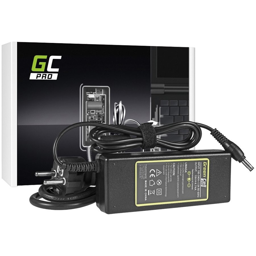 Green Cell PRO Charger / AC Adapter for Samsung NP-P50 NP-P60 NP-M70 Pro R510 R530 R540 R580 RV511 19V 4.74A