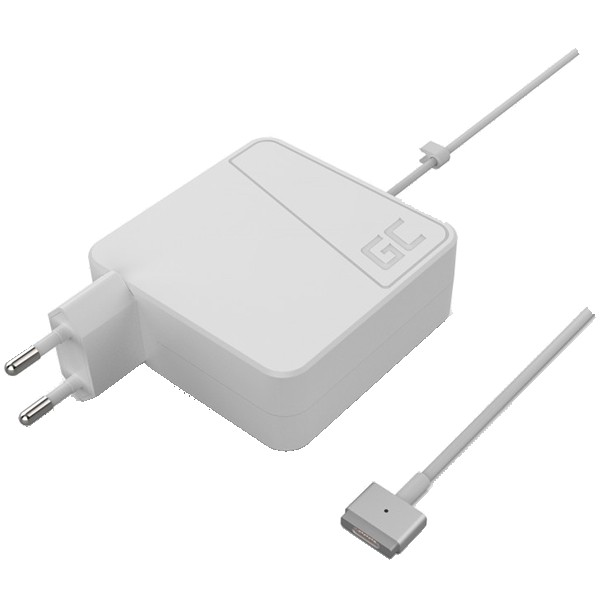 Green Cell Charger AC Adapter for Apple Macbook 60W / 16.5V 3.65A / Magsafe 2