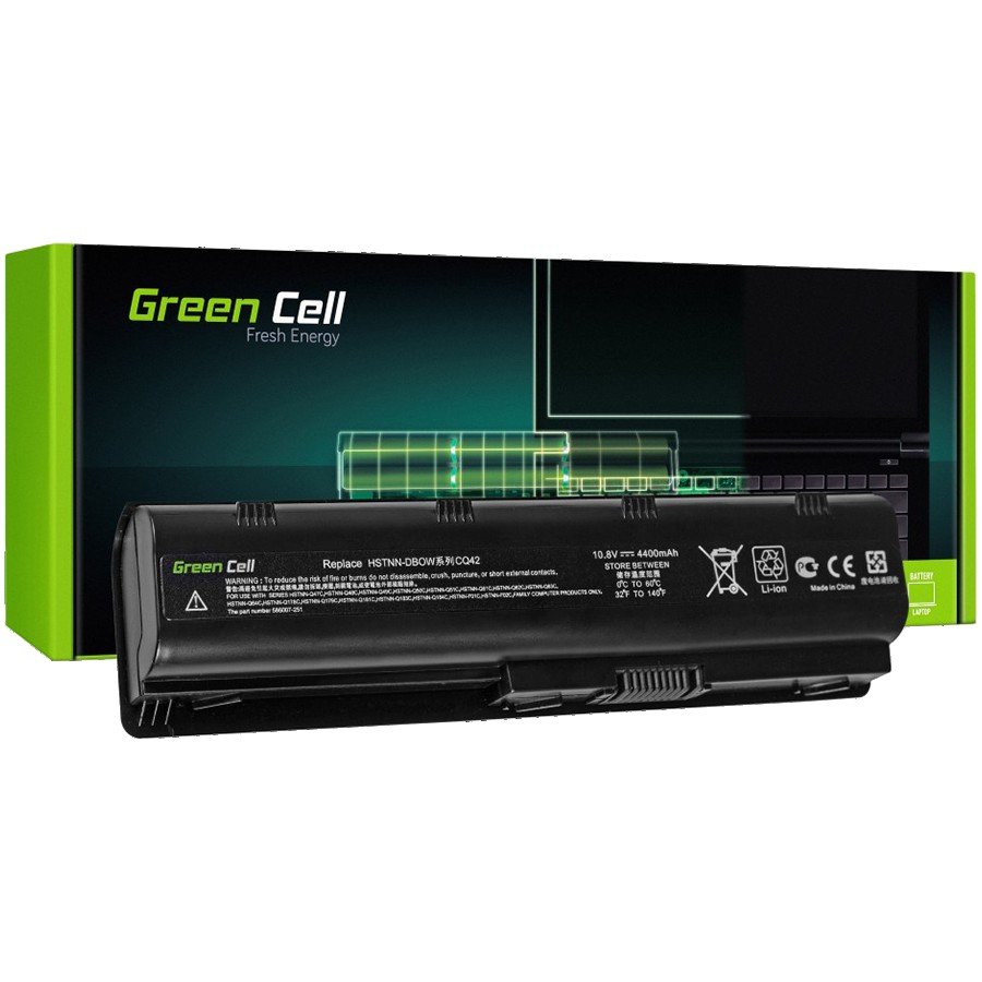 Green Cell Battery for HP 635 650 655 2000 Pavilion G6 G7 / 11,1V 4400mAh