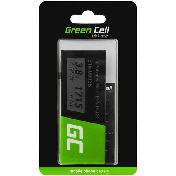 Green Cell Smartphone Battery for Apple iPhone 6S