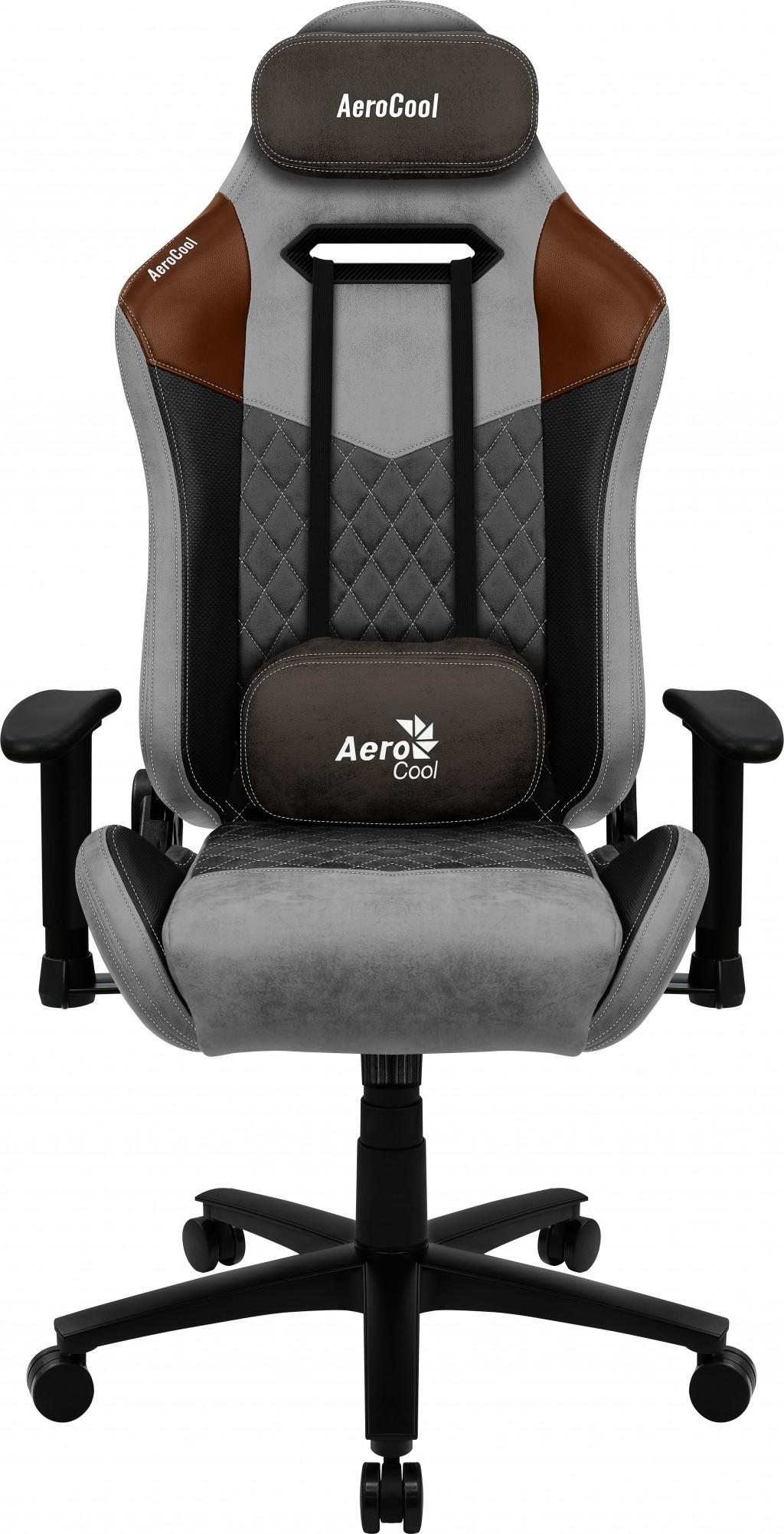 AEROCOOL Duke Tan Grey - Gaming Chair