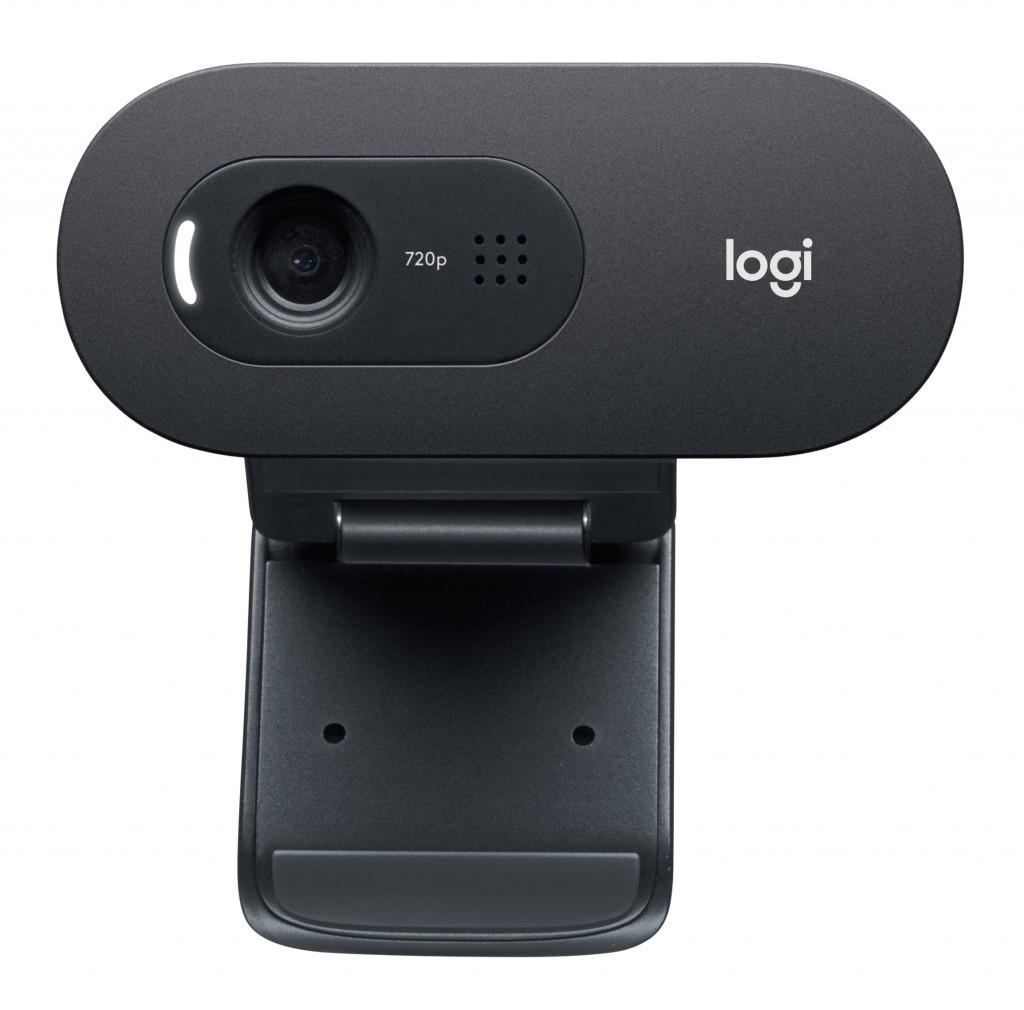LOGI C505e HD Webcam Black