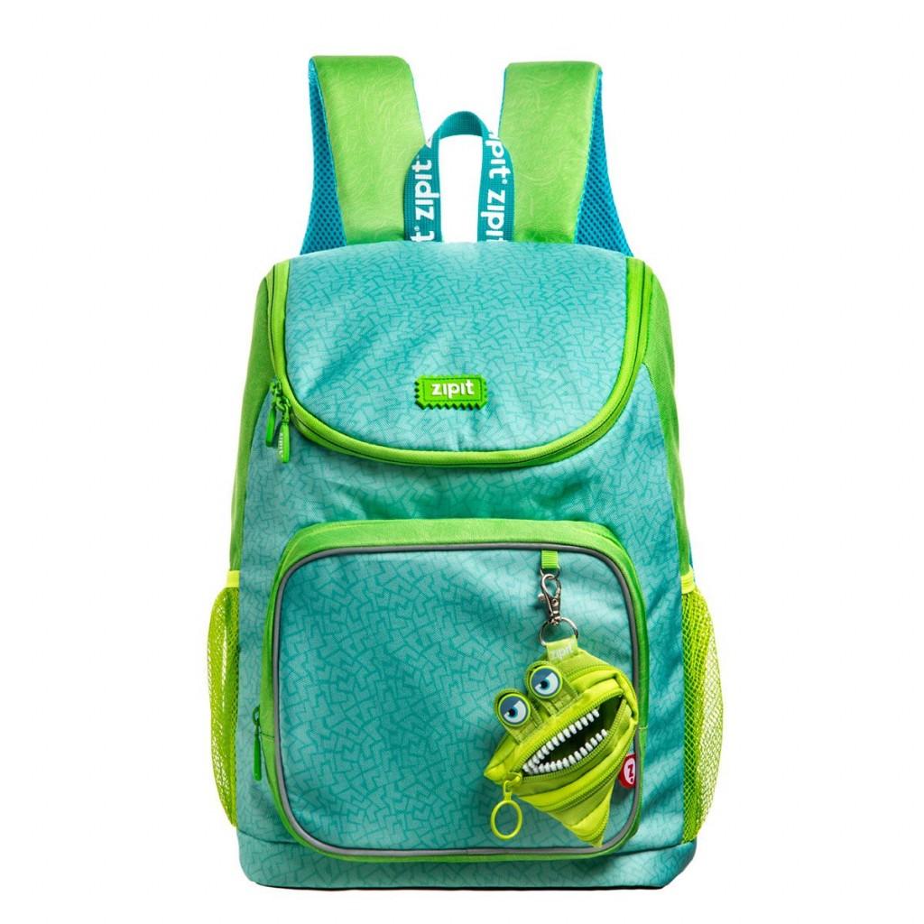 Koolikott Zipit, Wildlings Premium Backpack, Roheline