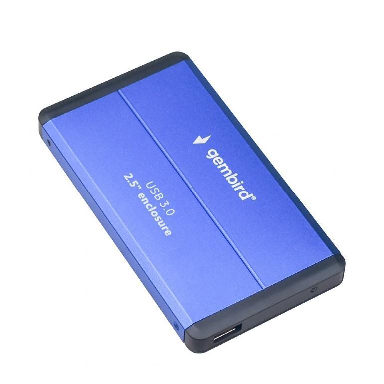 """HDD CASE EXT. USB3 2.5""""/BLUE EE2-U3S-2-B GEMBIRD"""