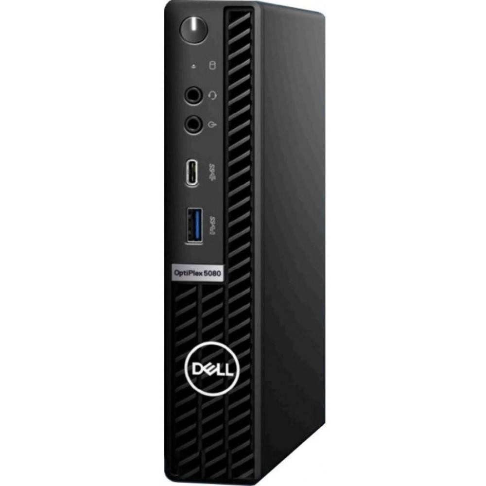 PC|DELL|OptiPlex|5080|Business|MicroTower|CPU Core i5|i5-10500T|2300 MHz|RAM 8GB|DDR4|SSD 256GB|Graphics card Intel UHD Graphics|Integrated|EST|Windows 10 Pro|Included Accessories Dell Optical Mouse-MS116,Dell Wired Keyboard KB216 Black|N007O5080MFF_EST