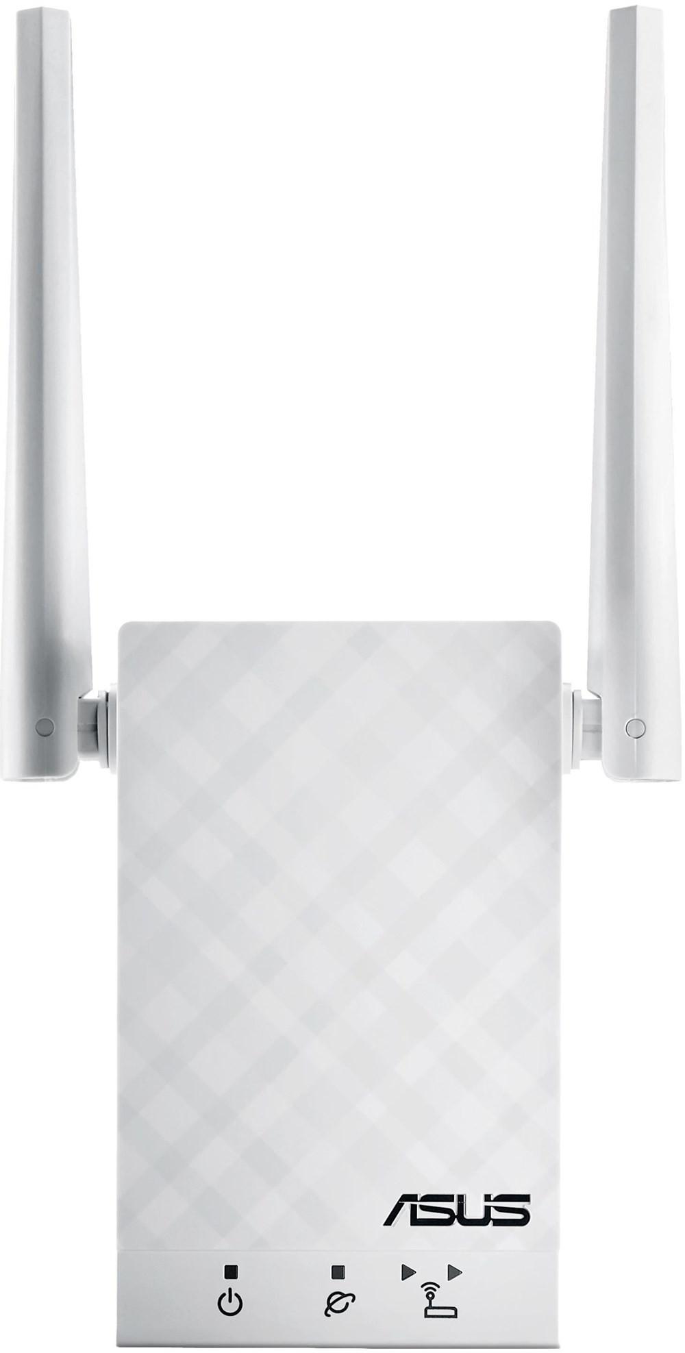 ASUS RP-AC55 sild ja järgur Võrguvõimendi 1200 Mbit/s Valge