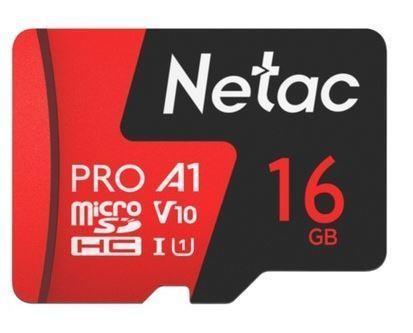 MEMORY MICRO SDHC 16GB UHS-I/NT02P500PRO-016G-S NETAC