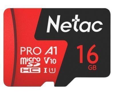 MEMORY MICRO SDHC 16GB UHS-I/W/A NT02P500PRO-016G-R NETAC