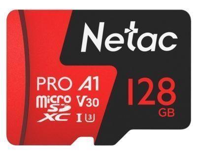 MEMORY MICRO SDXC 128GB UHS-I/W/A NT02P500PRO-128G-R NETAC