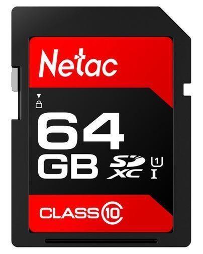 MEMORY SDXC 64GB UHS-I/NT02P600STN-064G-R NETAC