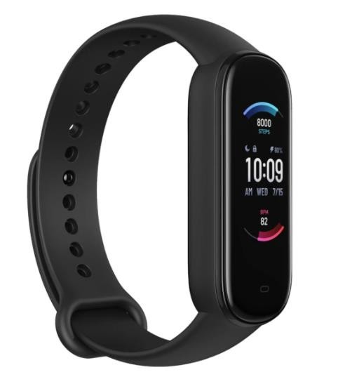 SMARTBAND AMAZFIT BAND 5/A2005 MIDNIGHT BLACK HUAMI