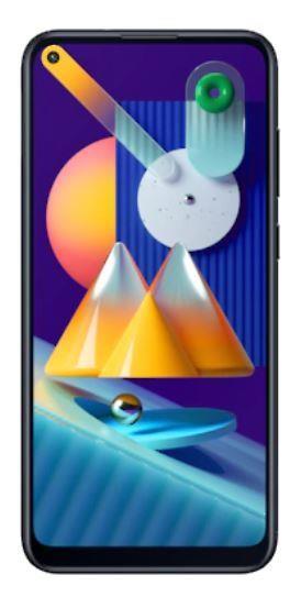 """Samsung Galaxy M11 SM-M115F/DSN 16,3 cm (6.4"""") Kaksik-SIM 4G USB tüüp-C 3 GB 32 GB 5000 mAh Must"""