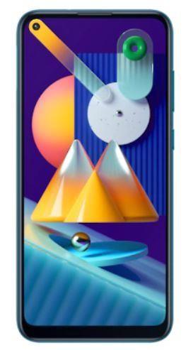 """Samsung Galaxy M11 SM-M115F/DSN 16,3 cm (6.4"""") Kaksik-SIM 4G USB tüüp-C 3 GB 32 GB 5000 mAh Sinine"""