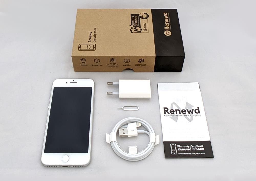 MOBILE PHONE IPHONE 8 64GB/SILVER RND-P80264 APPLE RENEWD