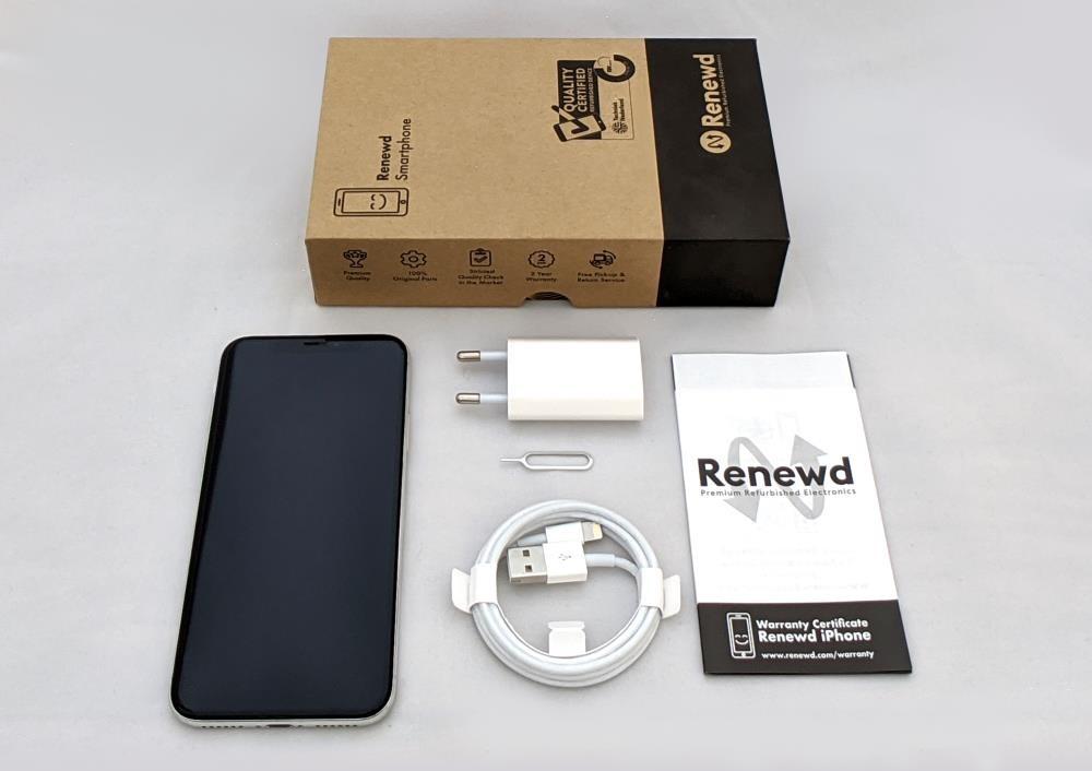 MOBILE PHONE IPHONE X 64GB/SILVER RND-P10264 APPLE RENEWD