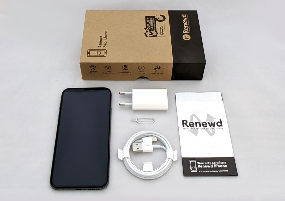 MOBILE PHONE IPHONE X 64GB/GRAY RND-P10164 APPLE RENEWD