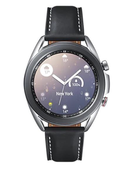"Samsung Galaxy Watch3 SAMOLED 3,05 cm (1.2"") Hõbe GPS (satelliit)"