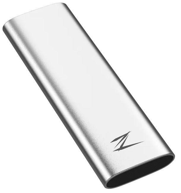 External SSD NETAC 250GB USB-C Write speed 480 MBytes/sec Read speed 520 MBytes/sec NT01ZSLIM-250G-32SL