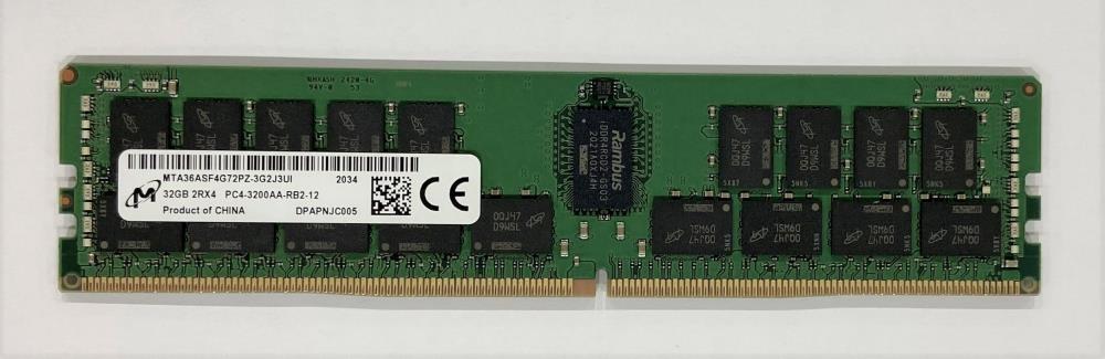Server Memory Module|DELL|DDR4|32GB|RDIMM/ECC|3200 MHz|1.2 V|AA783422