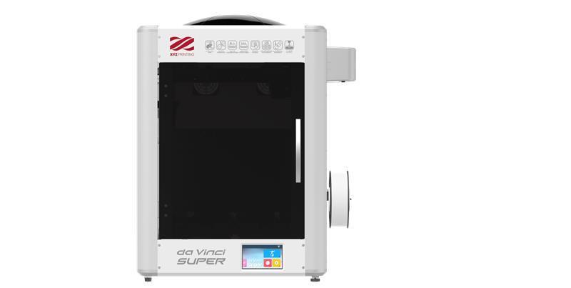 3D Printer|XYZPRINTING|Technology Fused Filament Fabrication|da Vinci Super|size 604 x 605 x 733mm|3F1SWXEU01B