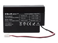 QOLTEC AGM battery 12V 0.8Ah max. 12A