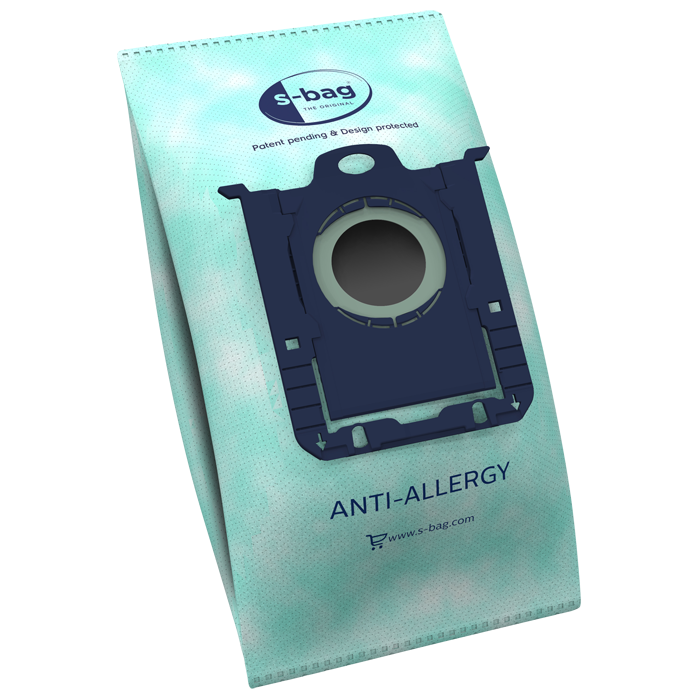 Electrolux Hygiene Anti-Allergy Vacuum Cleaner Bags E206S s-bag Number of bags 4, Green