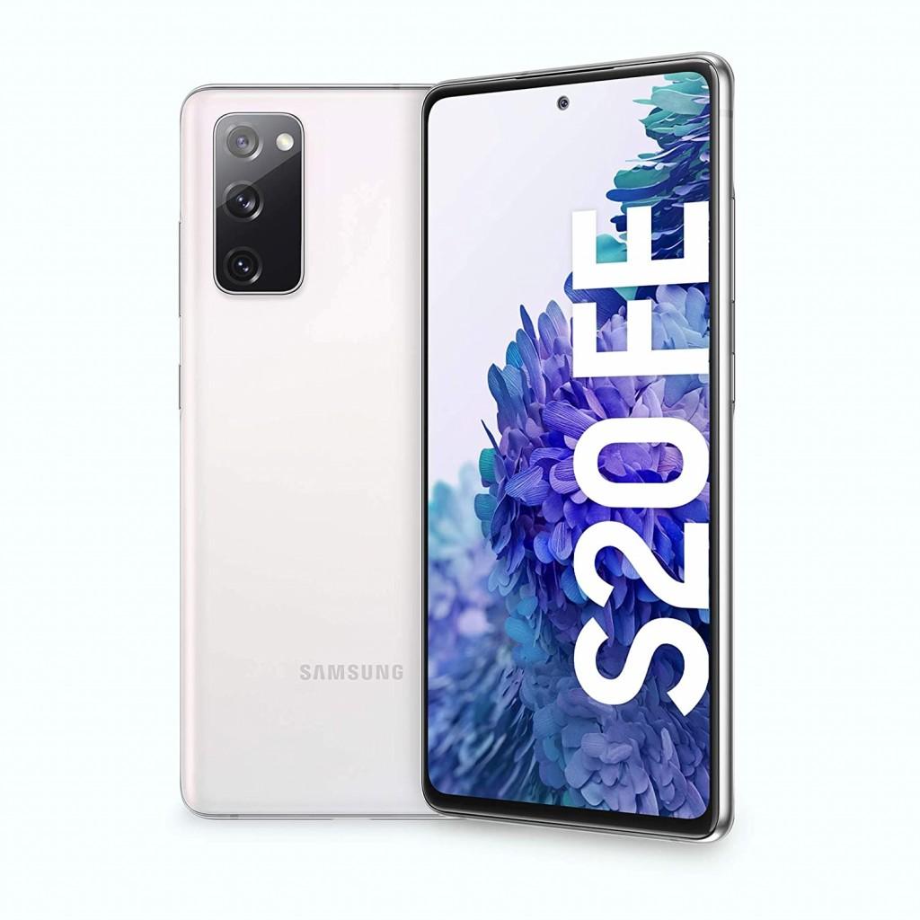 "Samsung Galaxy S20 FE G780 Blue, 6.5 "", Super AMOLED, 1080 x 2400, Qualcomm SM8250 Snapdragon 865, Internal RAM 6 GB, 128 GB, microSD, Dual SIM, Nano-SIM, 3G, 4G, Main camera 12 + 12 + 8 MP, Secondary camera 32 MP, Android, 10, 4500 mAh"