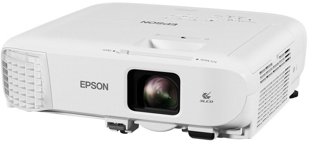 Epson 3LCD projector EB-E20 XGA (1024x768), 3400 ANSI lumens, White
