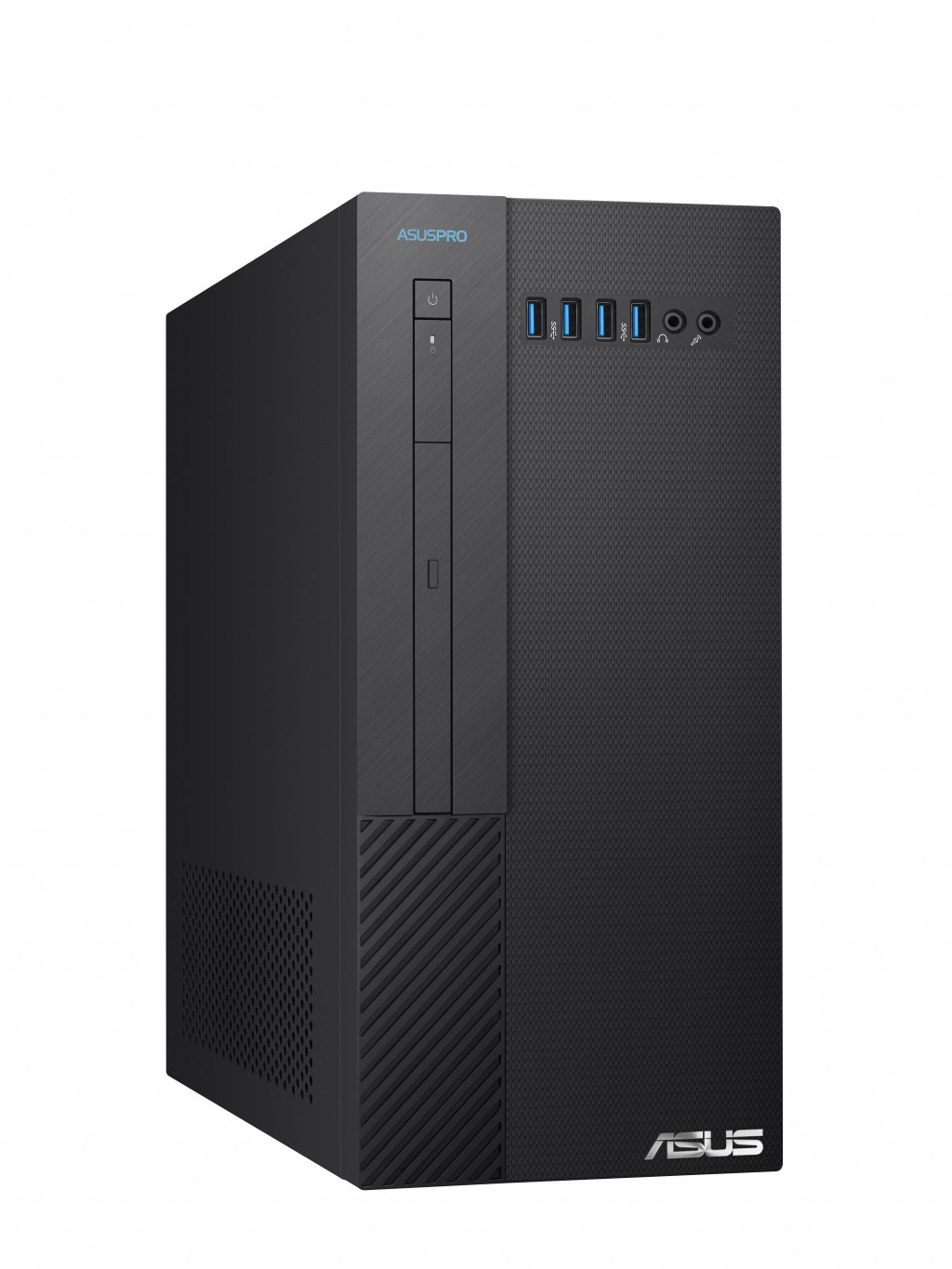 Asus Pro D340MF-39100F026R Desktop, Intel Core i3, i3-9100F, Internal memory 4 GB, DDR4 U-DIMM, SSD 256 GB, NVIDIA GeForce GT710, DVD reader 8X, Windows 10 Pro, Warranty 24 month(s)