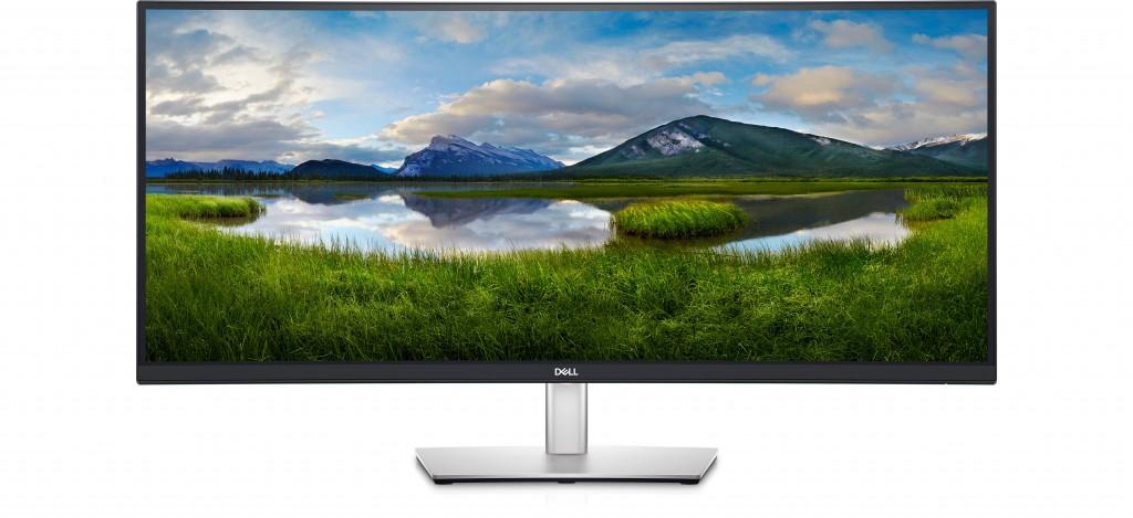 "Dell Curved USB-C Monitor P3421W 34 "", IPS, WQHD, 3440 x 1440, 21:9, 8 ms, 300 cd/m², Silver/Black"