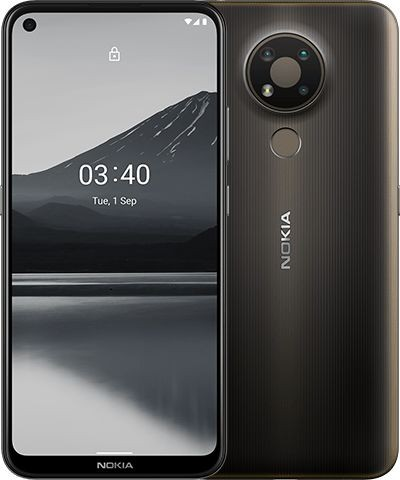 "Nokia 3.4 TA-1283 6.39 "", Charcoal Grey, IPS LCD, 720 x 1560 pixels, Qualcomm SM4250 Snapdragon 460, Dual SIM, Nano-SIM, 4.2, Internal RAM 3 GB, 32 GB, MicroSDXC, 3G, 4G, Main camera 13+5+2 MP, Secondary camera 8 MP, Android, 10.0, 4000 mAh"