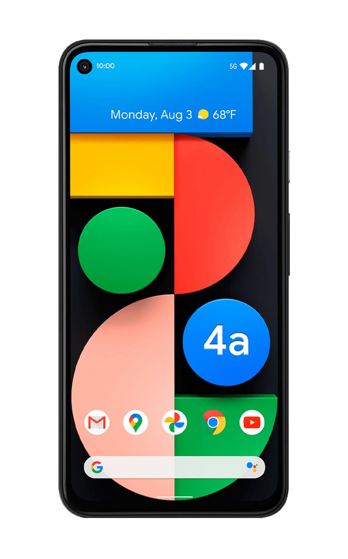 "google Pixel 4a 5G Just Black, 6.2 "", OLED, 1080 x 2340 pixels, Qualcomm SM7250 Snapdragon 765G, Internal RAM 6 GB, 128 GB, Single SIM, Nano-SIM card & eSIM, 3G, 4G, 5G, Main camera 12.2+16 MP, Secondary camera 8 MP, Android, 11.0, 3885 mAh"