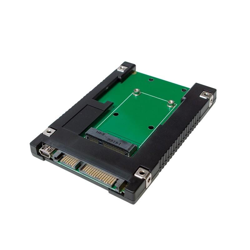 MSATA SSD Adapter for SATA 2.5'