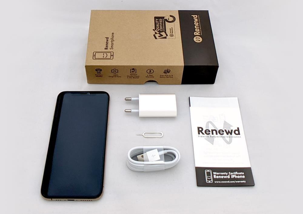 MOBILE PHONE IPHONE XS 64GB/GOLD RND-P12364 APPLE RENEWD