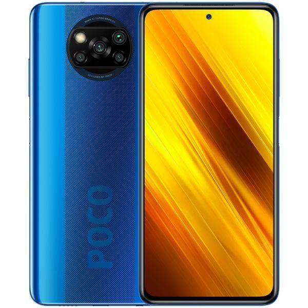 MOBILE PHONE POCO X3/64GB BLUE MZB07TDEU XIAOMI
